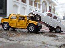 accident de jouet photo libre de droits