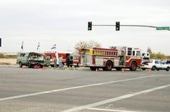 Accident de la circulation 1 Images libres de droits