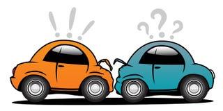 Accident de véhicule illustration libre de droits