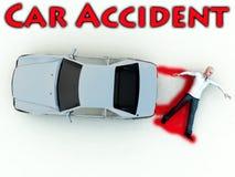 Accident de véhicule 15 illustration libre de droits
