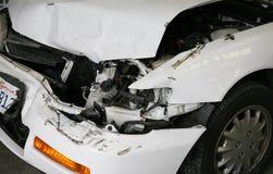 Accident de véhicule Photos libres de droits
