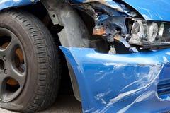 Accident de véhicule Images libres de droits