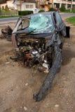 Accident de véhicule photo libre de droits