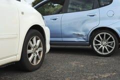 Accident de véhicule léger Images libres de droits