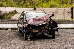 Accident de voiture Photographie stock libre de droits