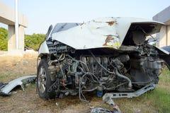 Accident de voiture cassé Photographie stock