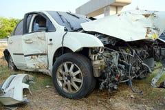 Accident de voiture cassé Photos libres de droits
