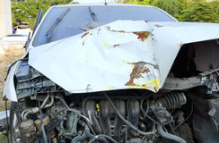 Accident de voiture cassé Image libre de droits