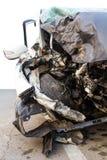 Accident de voiture démoli photos libres de droits
