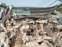 Accident de voiture d'accidents photo libre de droits