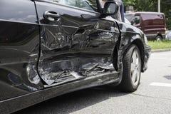 Accident_door imagens de stock