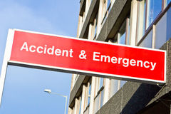 Accident and emergency Stock Photography