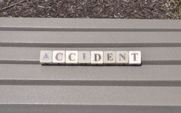 The accident royalty free stock photo
