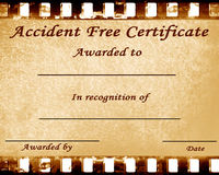Accident free Stock Photography