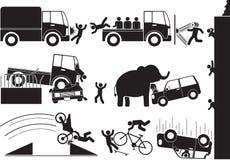 Accident vector illustration