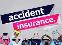 Accident Insurance Protection Damage Safety Concept Royalty Free Stock Photo