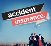 Accident Insurance Protection Damage Safety Concept Stock Image