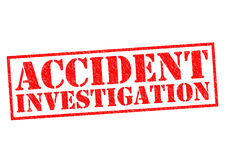 ACCIDENT INVESTIGATION Stock Images