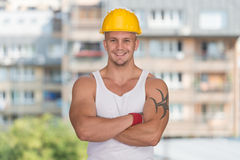 Accident Prevention Safety Helmet Royalty Free Stock Photography