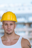 Accident Prevention Safety Helmet Royalty Free Stock Image