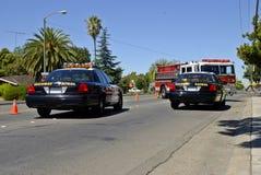 Accident Scene Royalty Free Stock Photo