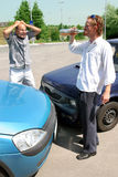 Accident two cars Royalty Free Stock Photo