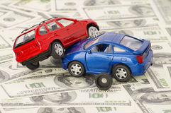 Accident two cars, insurance case Royalty Free Stock Photo