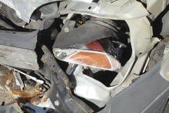 Accident vehicle, scrap car Stock Photos