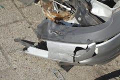 Accident vehicle, scrap car Stock Images