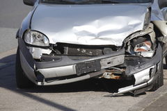 Accident vehicle, scrap car Stock Photography