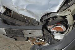Accident vehicle, scrap car Royalty Free Stock Photography