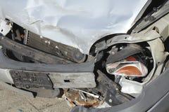 Accident vehicle, scrap car Stock Image