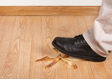 Accident Waiting To Happen Royalty Free Stock Image