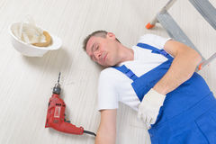 Accident at work Royalty Free Stock Photography