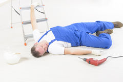 Accident at work Royalty Free Stock Image