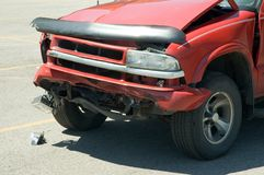 Accidente auto Foto de archivo