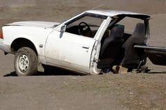 Accidente de automóvil Fotos de archivo libres de regalías