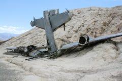Accidente de avión imagen de archivo libre de regalías