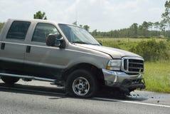 Accidente de la carretera Foto de archivo libre de regalías