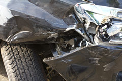 Accidente de la rueda Imagenes de archivo