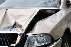 Accidente de tráfico Imagen de archivo libre de regalías