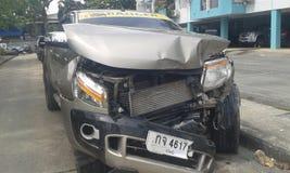 Accidente de tráfico de la recogida Fotografía de archivo libre de regalías