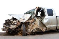 Accidente de tráfico demolido Fotos de archivo