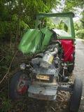 Accidente del tractor Fotografía de archivo libre de regalías
