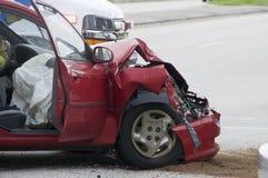 Accidente del vehículo Fotografía de archivo libre de regalías