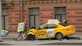 Accidentes en los caminos Imagenes de archivo