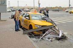 Accidentes en los caminos Foto de archivo