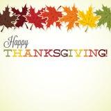 ¡Acción de gracias feliz! Imagen de archivo libre de regalías