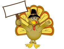 Acción de gracias Turquía del vector Imagen de archivo libre de regalías