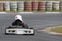 Acción de Karting Fotografía de archivo libre de regalías